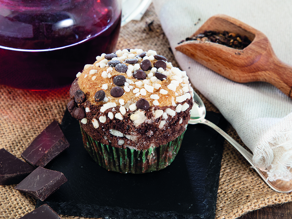 Muffin with cocoa- Gluten Free
