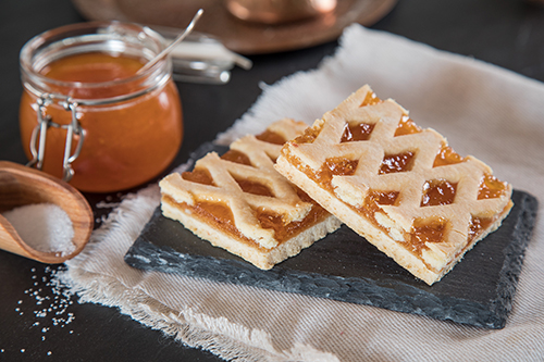 Tart in pieces Apricot - Gluten Free